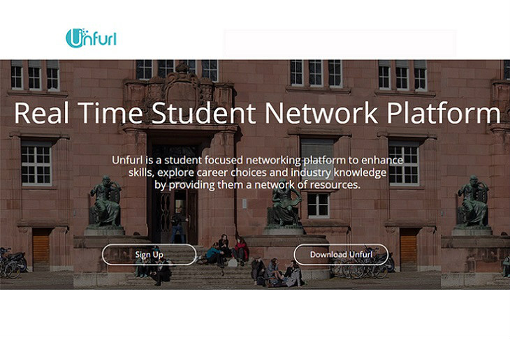 Unfurl Real Time Student Network Platform