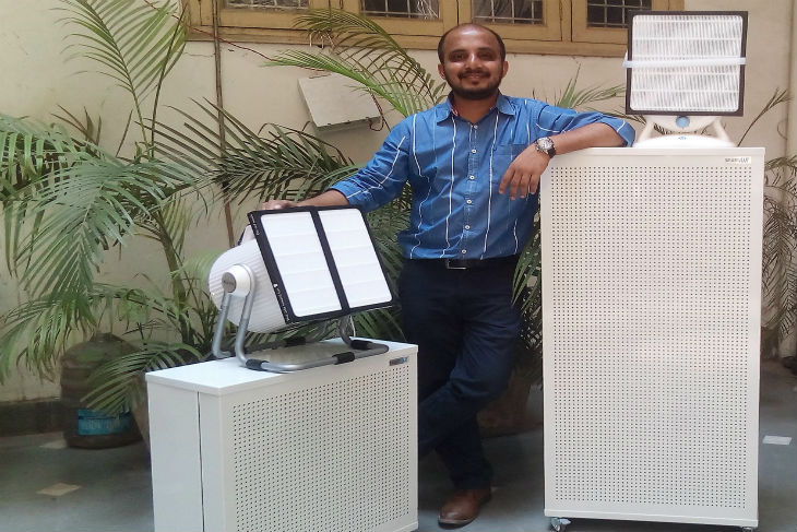 Meet the India Head of Smart Air Filters, an Enterprise that helps you breathe well with its DIY Smart Filters.
